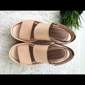Jeffrey Campbell Platform Sandal, Pink Cream